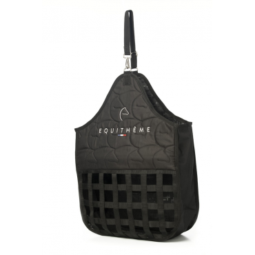 EQUITHEME - Sac à foin Logo noir