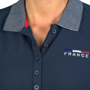 FLAGS&CUP - Polo fille France Limited Edition • Sud Equi'Passion