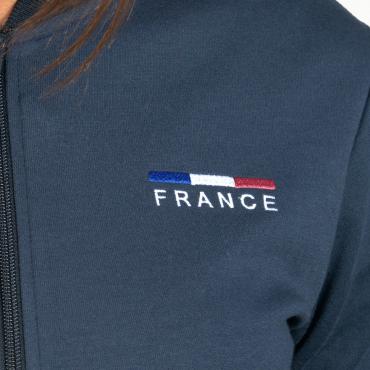 FLAGS&CUP - Sweat zippé homme France Limited Edition • Sud Equi'Passion