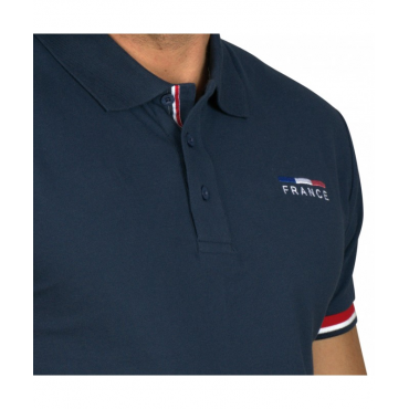 FLAGS&CUP - Polo homme France Limited Edition • Sud Equi'Passion