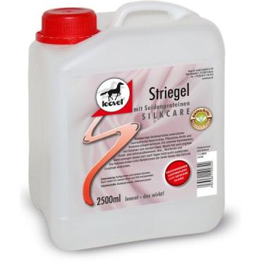 LEOVET - Démélant Lustrant Silkare Protéines de Soie recharge 2.5L • Sud Equi'Passion