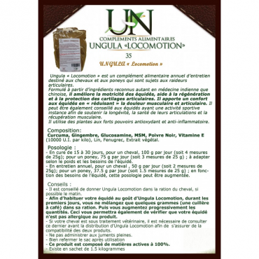 UNGULA NATURALIS - Ungula Locomotion • Sud Equi'Passion