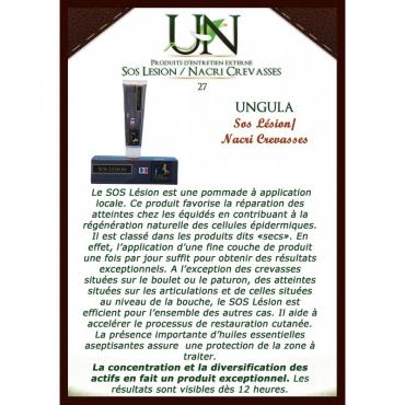 UNGULA NATURALIS - SOS Lésion • Sud Equi'Passion