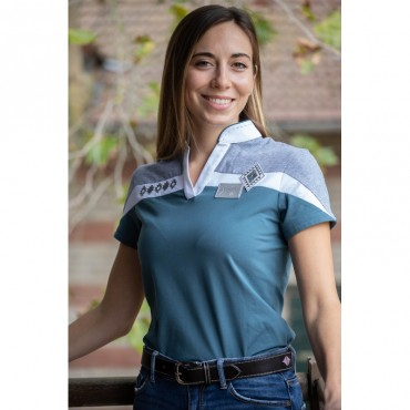 PENELOPE LEPREVOST - Polo femme Indy • Sud Equi'Passion