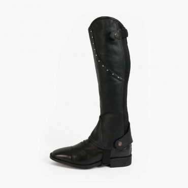 LAMI-CELL- Mini-chaps cuir Crystal • Sud Equi'Passion