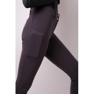 MONTAR - Pantalon taille haute femme Avery fond silicone • Sud Equi'Passion