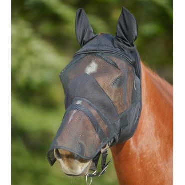 Masque anti-mouches Premium avec naseaux • Sud Equi'Passion