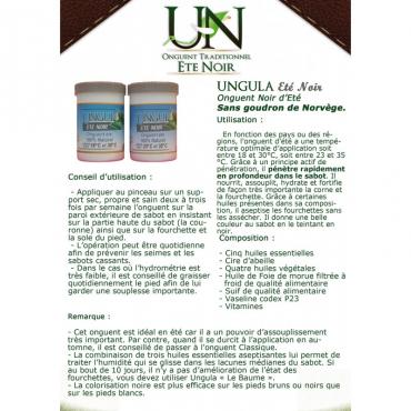 UNGULA NATURALIS - Onguent Eté Noir • Sud Equi'Passion