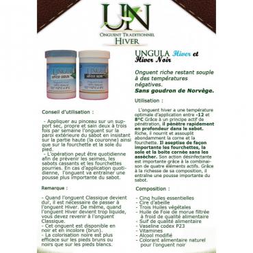 UNGULA NATURALIS - Onguent Hiver Noir • Sud Equi'Passion