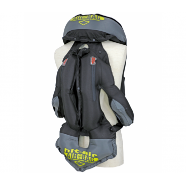 HIT-AIR - Gilet Airbag Complet Noir • Sud Equi'Passion