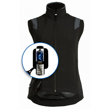 Air Shell Gilet + Airbag Zip'in HELITE • Sud Equi'Passion