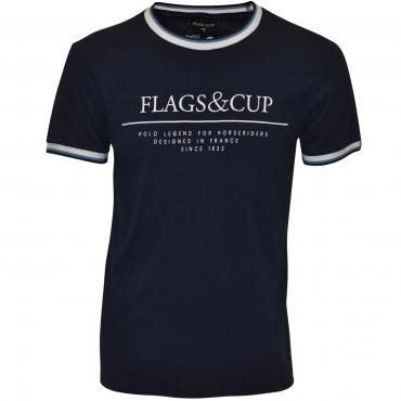 T-shirt homme Prado FLAGS et CUP • Sud Equi'Passion