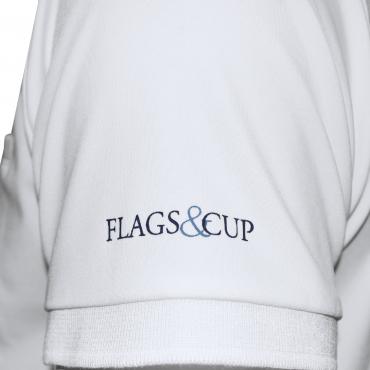 FLAGS&CUP - Polo de concours homme manches courtes Urbano • Sud Equi'Passion