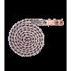 Longe Shine Rosegold mousqueton anti-panique 180cm