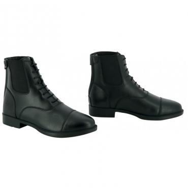Boots synthétiques à lacets