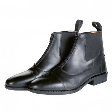 Boots cuir renfocées Hard Cap HKM