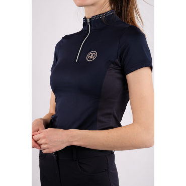 Polo de concours Karina Crystal Rows REBEL BY MONTAR • Sud Equi'Passion