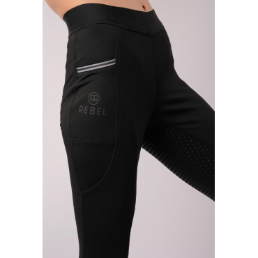 Legging Femme Willow full grip REBEL BY MONTAR • Sud Equi'Passion